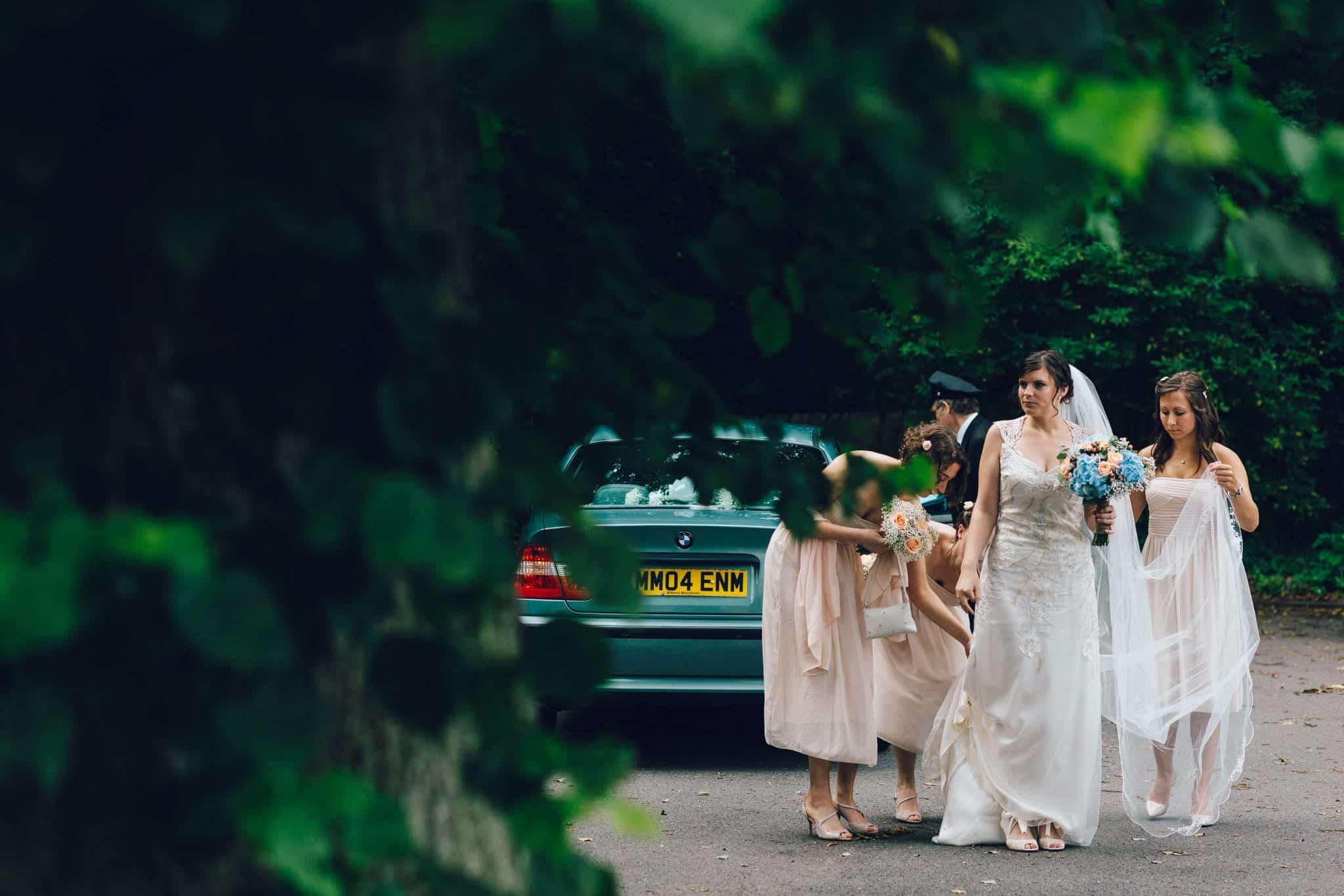 Ushaw College wedding photography