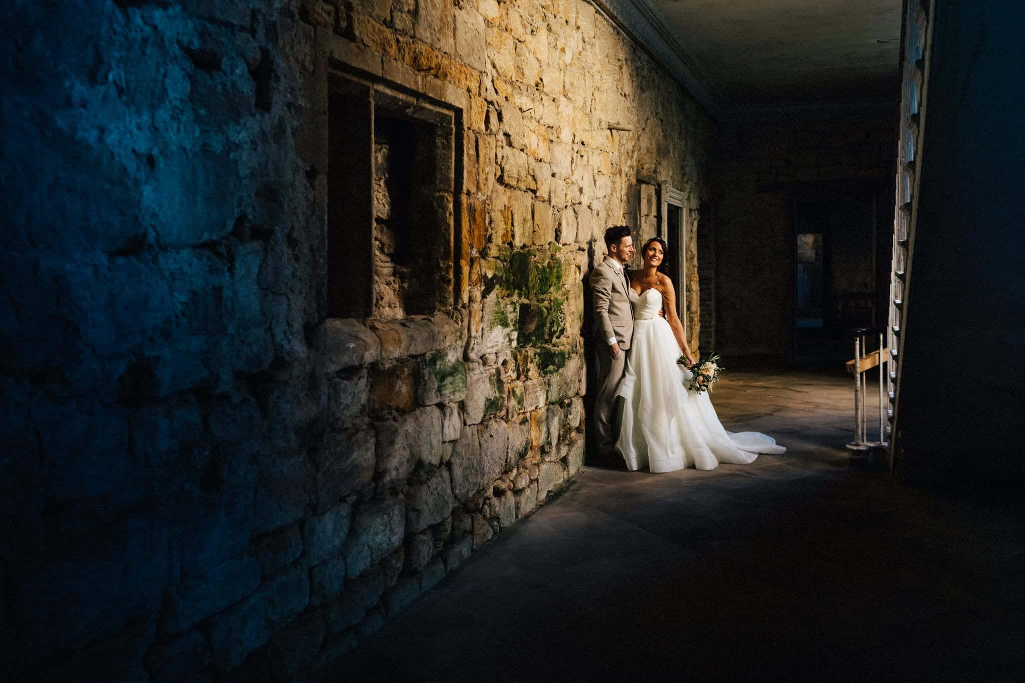 Brinkburn Priory wedding photography | Andy Turner