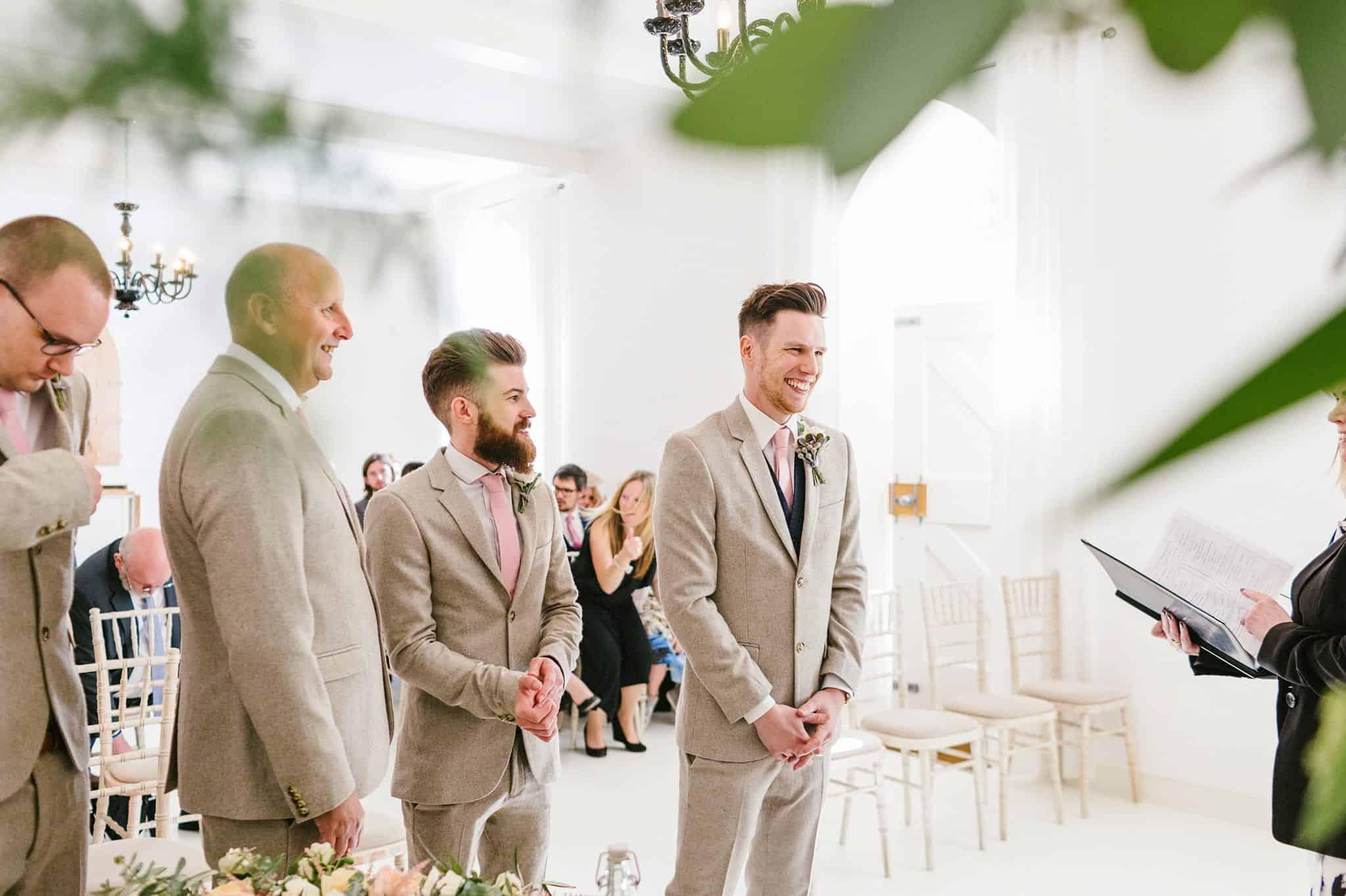 Brinkburn Priory wedding photography