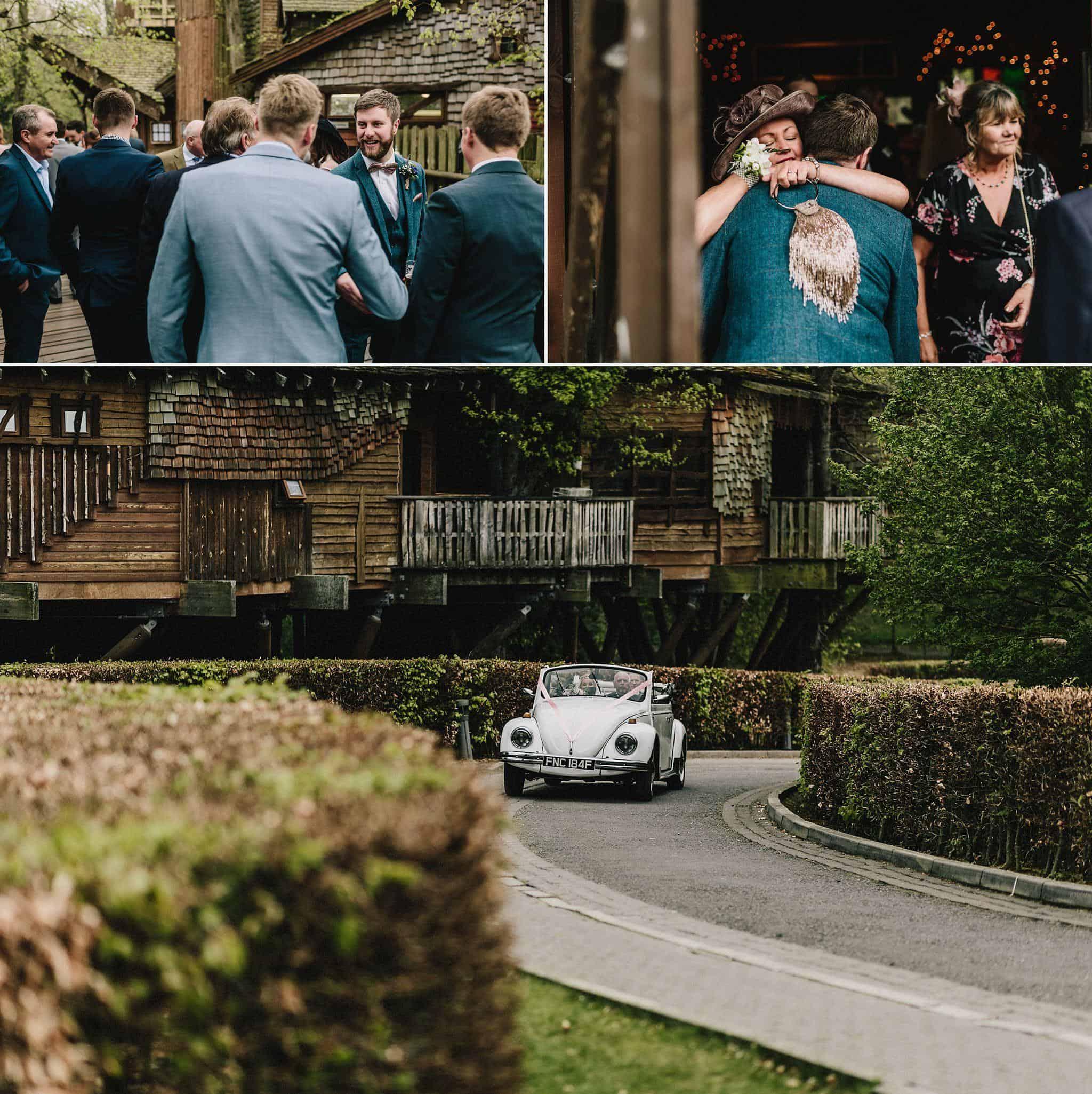 Alnwick Treehouse wedding photography (10)
