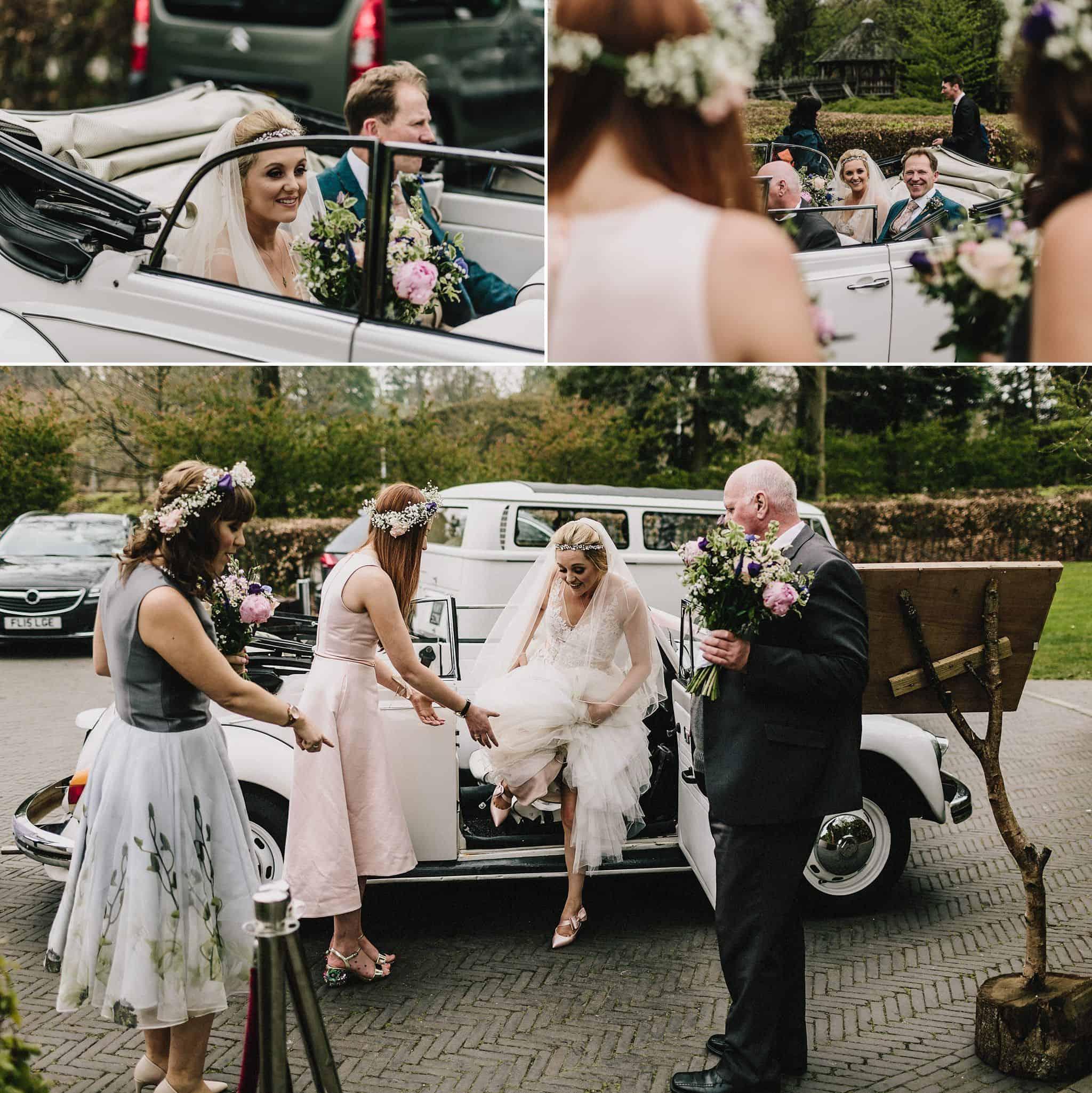 Alnwick Treehouse wedding photography (11)