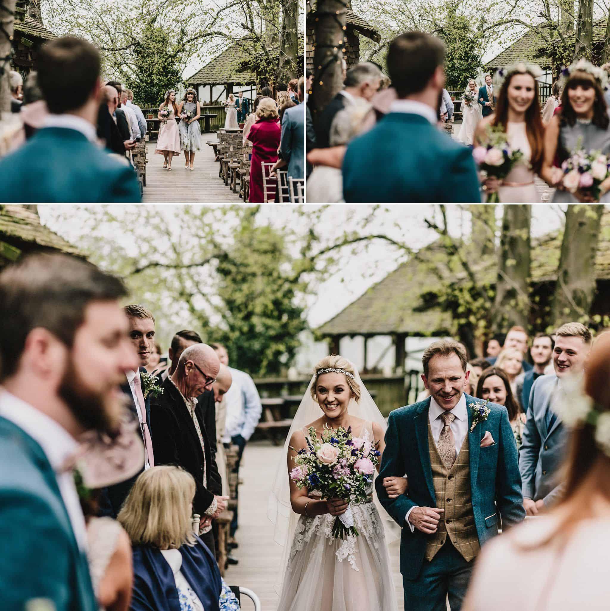 Alnwick Treehouse wedding photography (13)