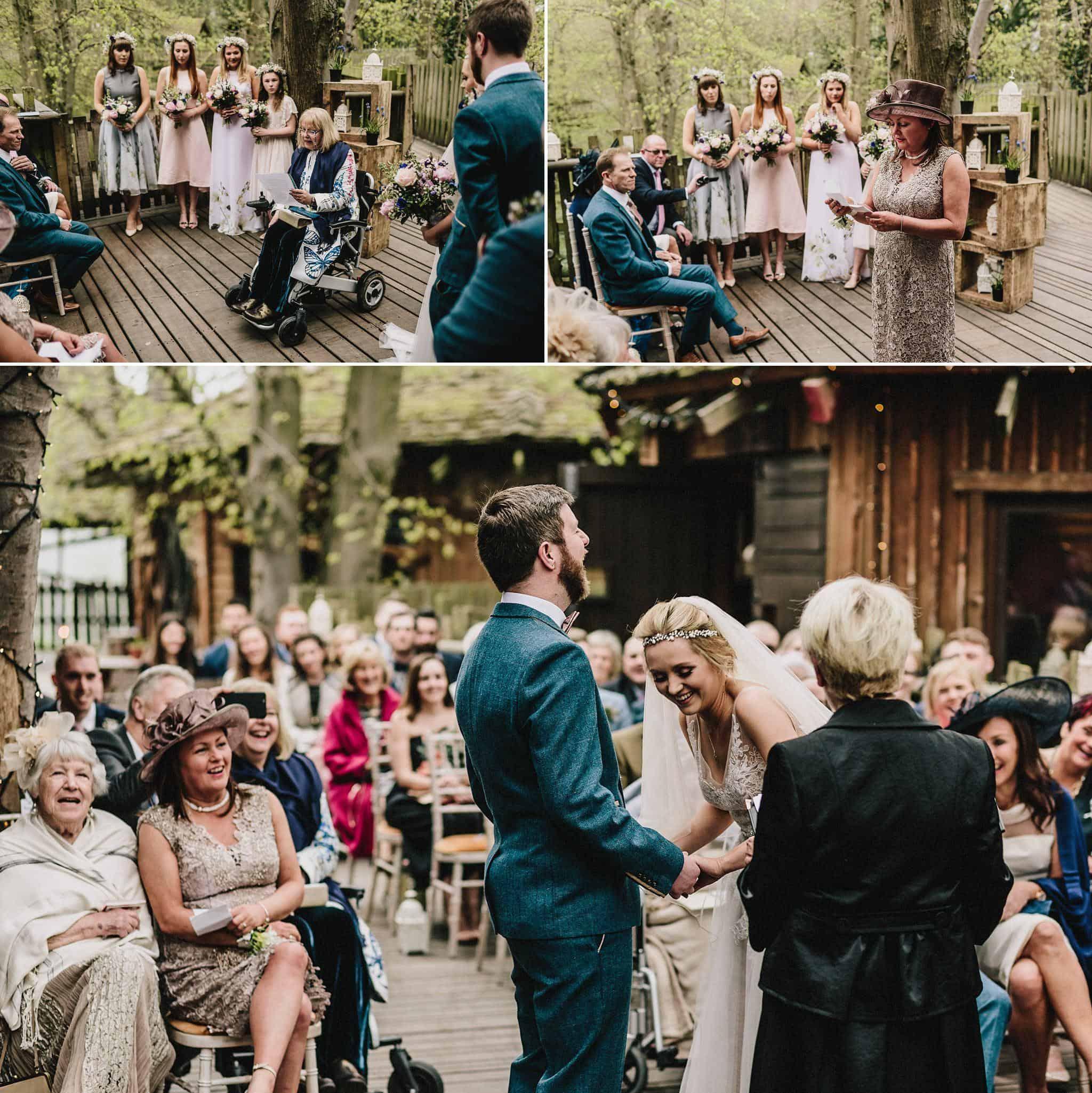 Alnwick Treehouse wedding photography (14)