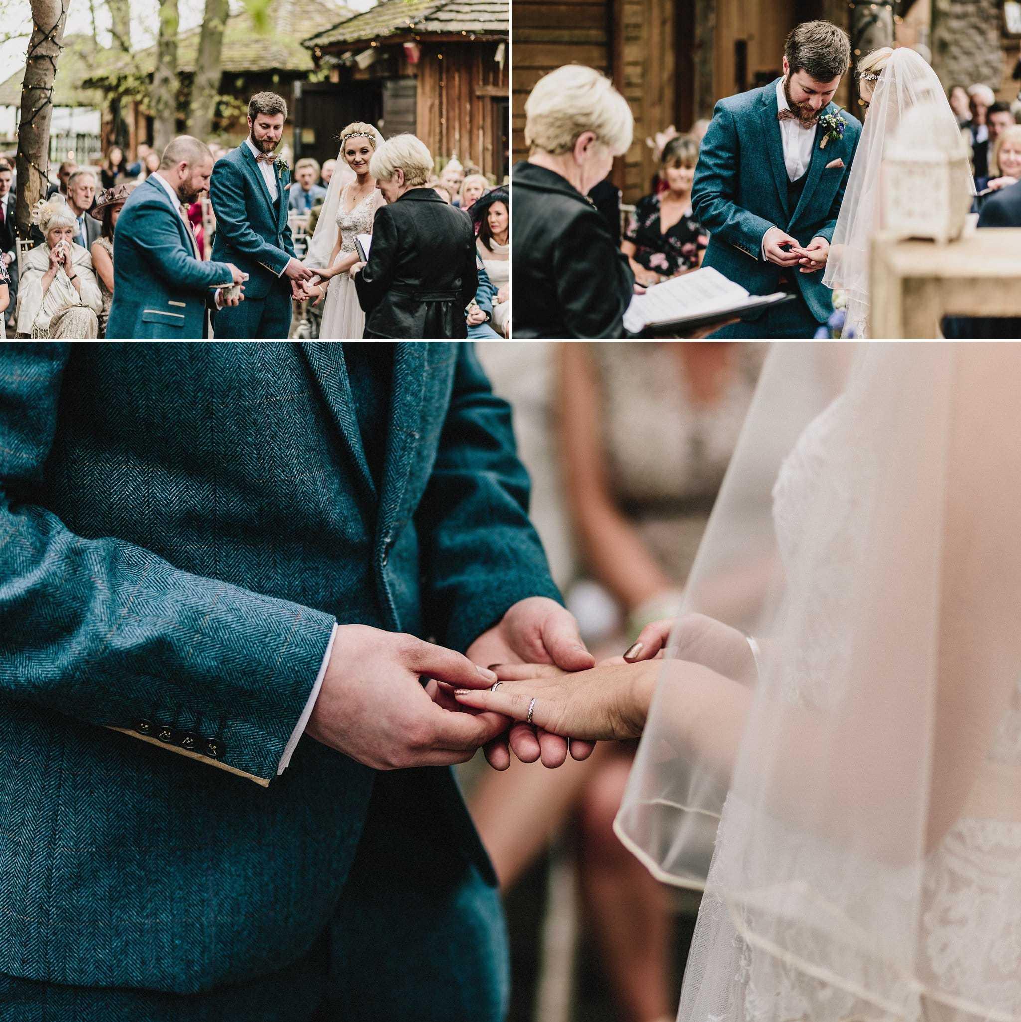 Alnwick Treehouse wedding photography (15)