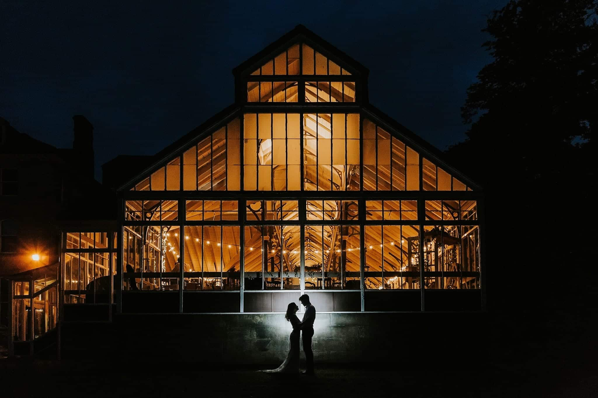 hexham winter gardens wedding photographer