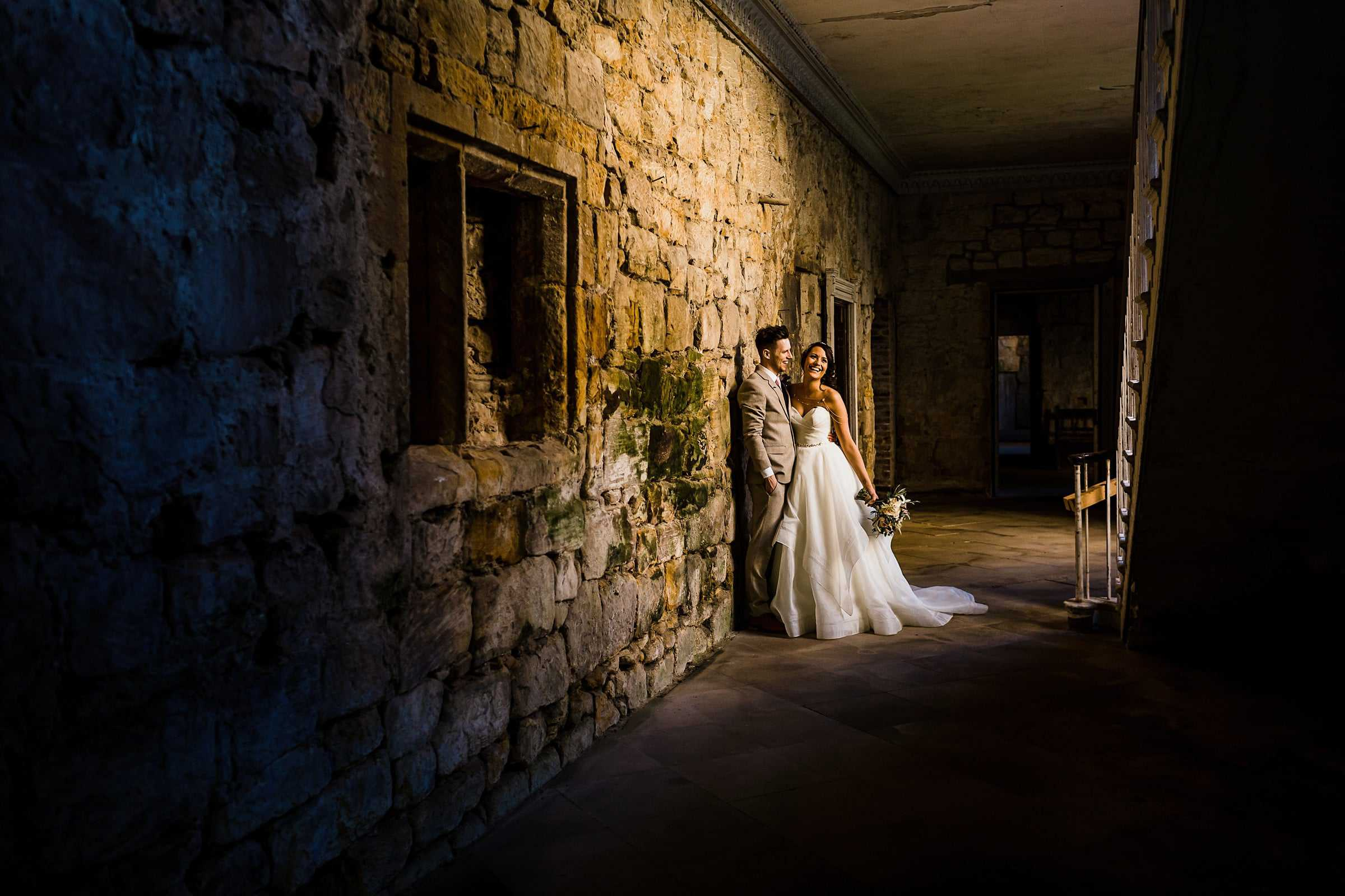 north east wedding photographer brinkburn priory